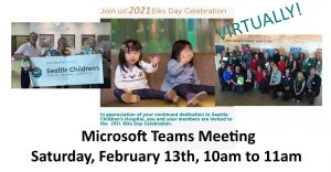 Elks Day at Children's Hospital @ Microsoft Teams